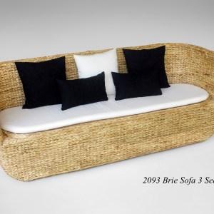 Brie Wicker Sofa