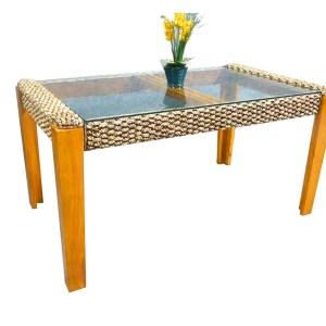 New Helena Wicker Dining Table