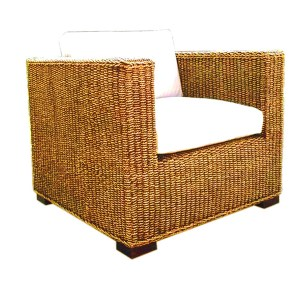 Chelsea Seagrass Woven Arm Chair