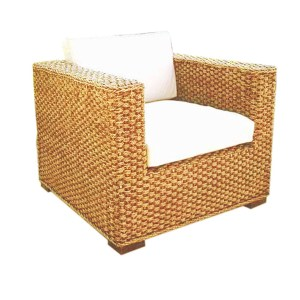 Chelsea Seagrass 3x2 Woven Arm Chair