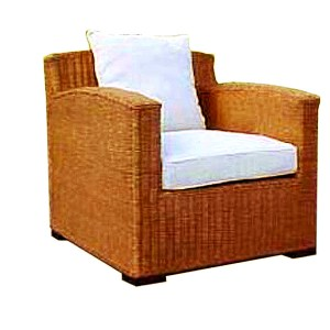 Rossana Rattan Arm Chair