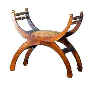 Morello Wooden Bench Single