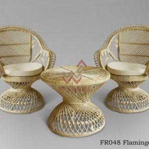 Flamingo Rattan Terrace Set