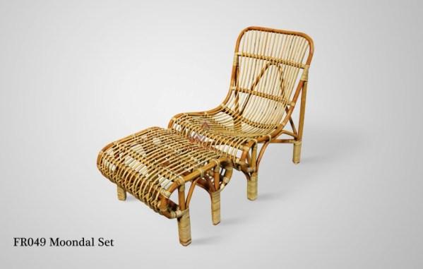 Moondal Rattan Chair Set