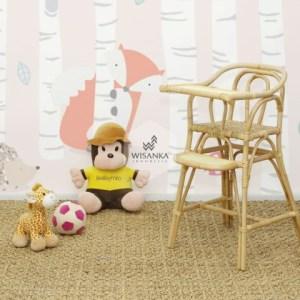 Ying Kids Rattan High Chair