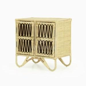 Rattan Mini Cabinet