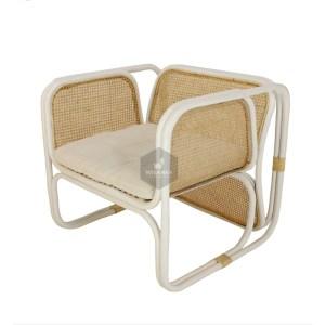 Fanie Rattan Chair White