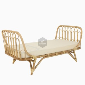 Tracey Rattan Toddler Bed