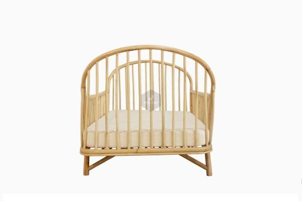 Loly Rattan Baby Cradle