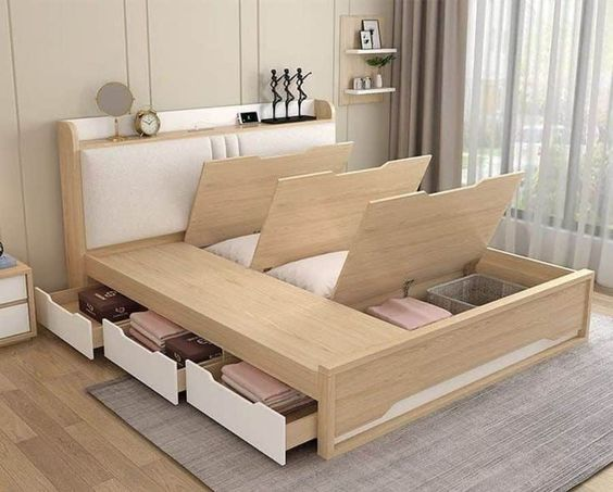Multifunction Bed with storage