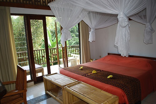 Bungalow - Hotel B11 - Moni Village, Flores, Indonesië
