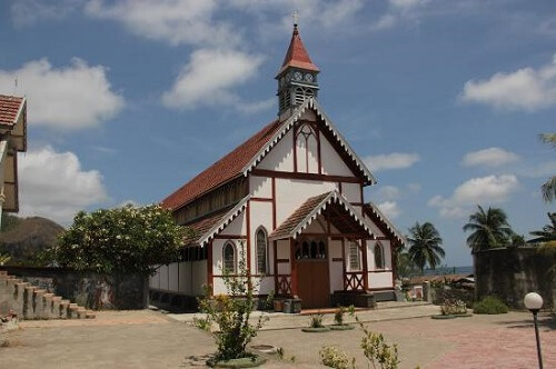 Kerk in Sikka Village - Flores, Indonesië