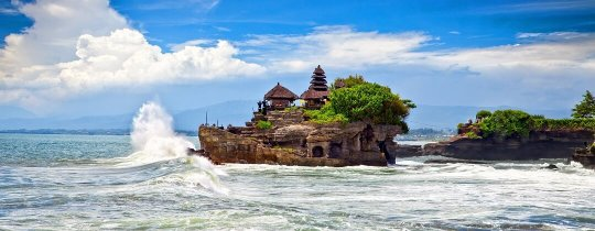 Pura Tanah Lot - een hindoeïstische zeetempel - Bali, Indonesië