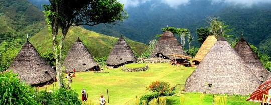 Wae Rebo, een traditioneel dorp - Flores, Oost Nusa Tenggara, Indonesië