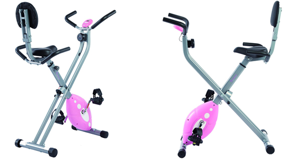 sunny folding recumbent bike review