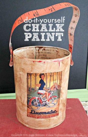 Do it yourself cheap and easy chalk paint DIY recipe