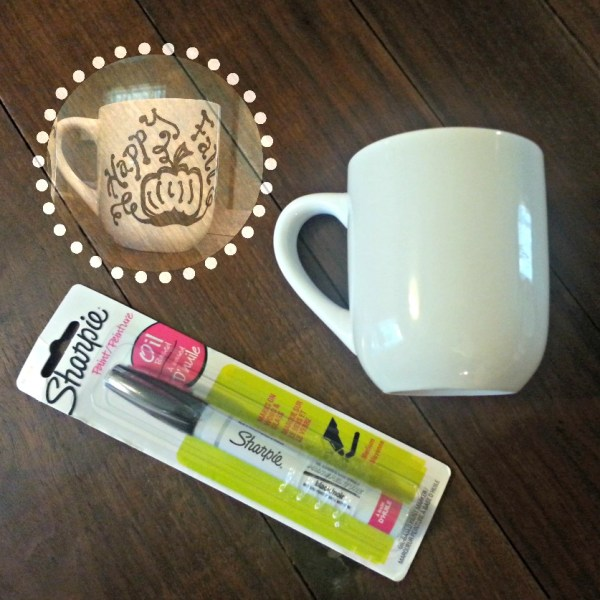 oil sharpie easy mug tutorial