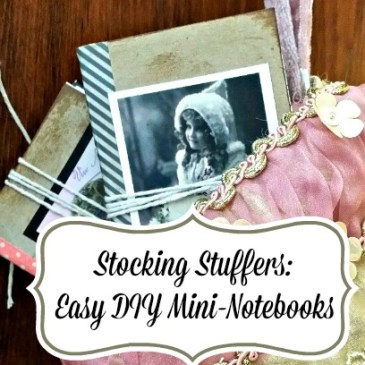 Easy Miniature Notebooks DIY Craft