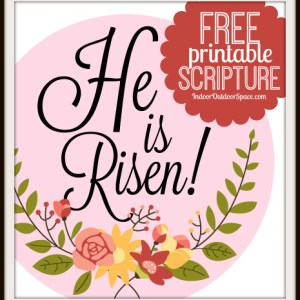 6-inch HE IS RISEN Circle