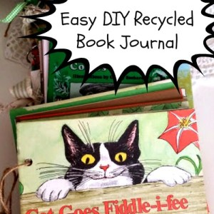 DIY Recycled Book Journal