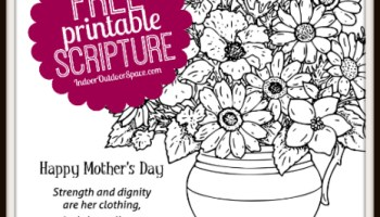 proverbs 31 mothers day kids coloring page - Free Mothers Day Coloring Pages