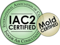 Mold Inspection IAC2 certification logo
