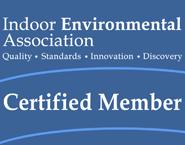 Indoor Environmental Association Certification Logo Mold Problem