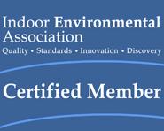 Indoor Environmental Association Certification Logo