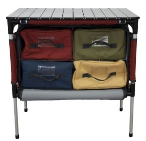Camp Chef Sherpa Camping Kitchen Cooking Table, Organizer ...