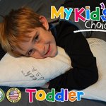 My Kids Choice memory foam toddler and kid pillow