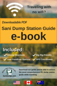 rv living, road trips, camping, sanitation, dumps, rv dumps, united states, guide