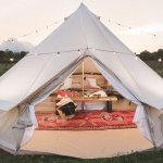 Dream House Heavy Duty Glamping Tent Yurt