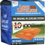 Lynx Recreational Vehicle Leveling Kit, 4 and 10-Pack RV Camper Levelers