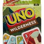 Mattel Games UNO Wilderness Game for Family Camping, Backpacking, Outdoor Adventures