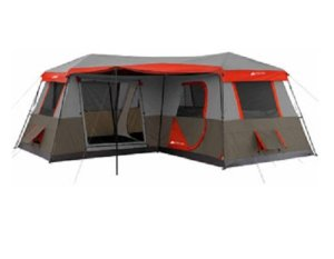 instant tent, pop up tent, tent camping, camping, family, kids, 12 person tent, 16 foot,3 room tent