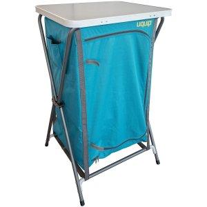 rv wardrobe, camping, camp kitchen, utensil storage, food storage, camping, outdoor camping storage