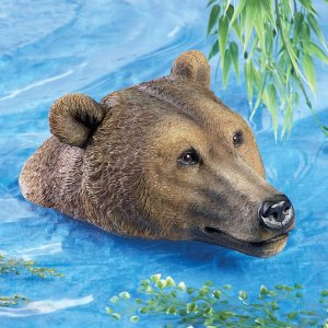 bears, pool floater, pool, pond, lake, beach, fun, funny, games, camp, camping, swimming, swim, summer, gift ideas