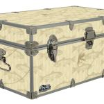 Fishing – Cottage & Cabin Storage Trunk – Themed Footlockers – 32 x 18 x 13.5 Inches