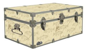 fish, fishing, toolbox, food locker, Storage Trunk, Footlocker Camping, Glamping, Cottage, Cabin