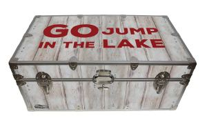 funny, lake, humor, food locker, go jump in the lake,