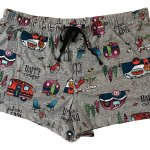 Secret Treasures RV Happy Camper Pajama Sleep Shorts