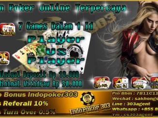 Website Poker Online Tidak Pernah Sepi Dari Pemain Di Indonesia