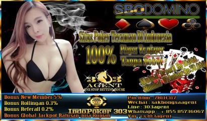 Sbodomino Situs Poker Teraman Di Indonesia