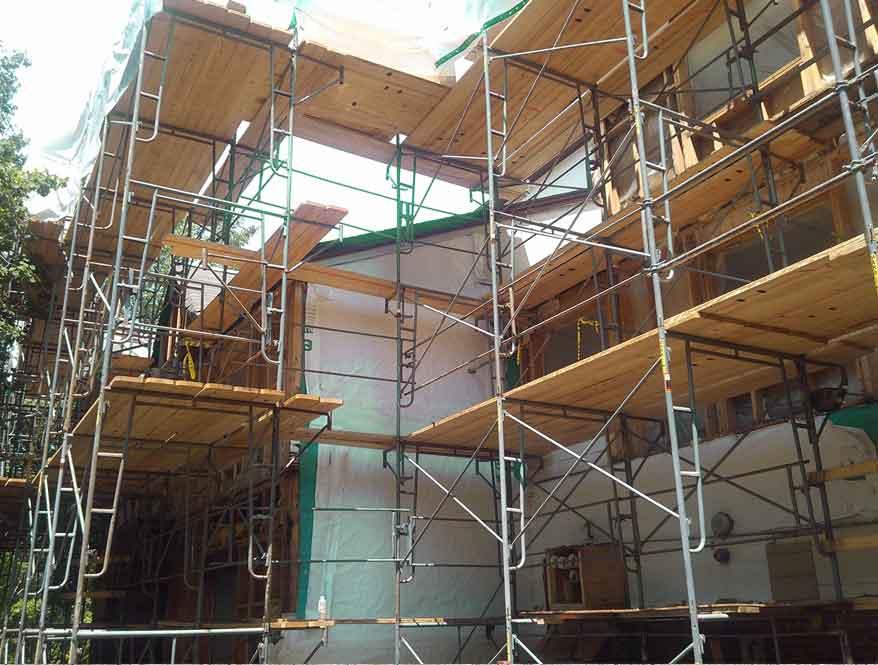 Standar Penggunaan Scaffolding untuk Bangunan Bertingkat
