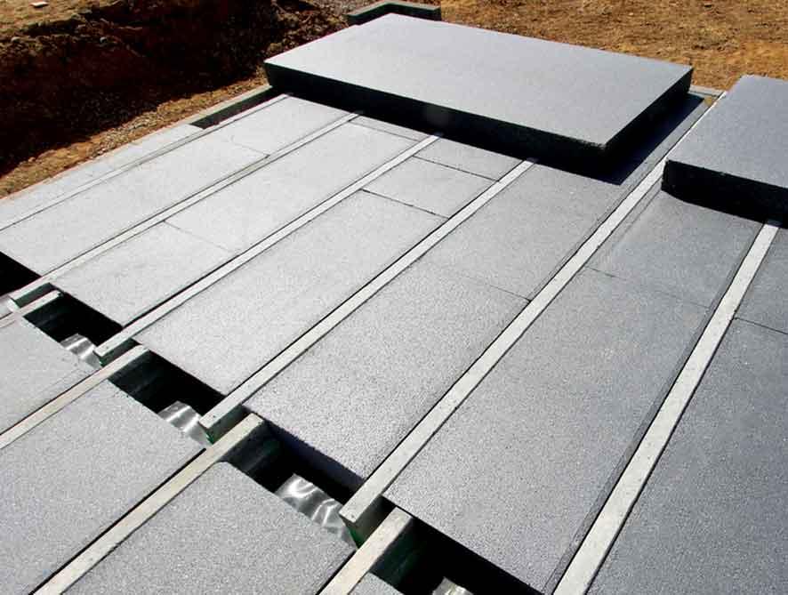 Implementasi Panel Lantai Styrofoam Beton Busa
