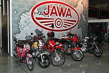 Line-up motor JAWA hingga saat ini..