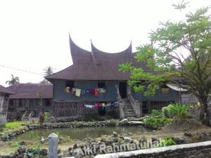 Rumah Gadang Asli! Dulunya rumah gadang ini simbol kemapanan..