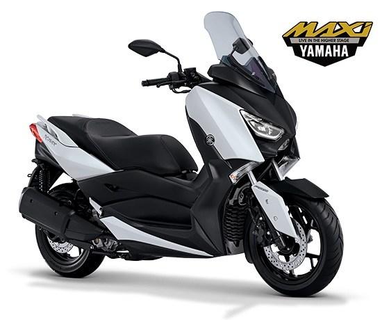 Yamaha-XMAX-250-Warna-Putih-Elegant-White