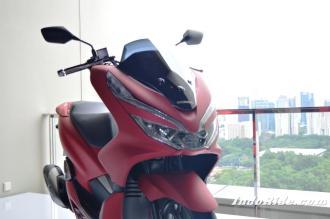 Honda All New PCX 150 Lokal 2018 versi CBS, ada versi modifnya!