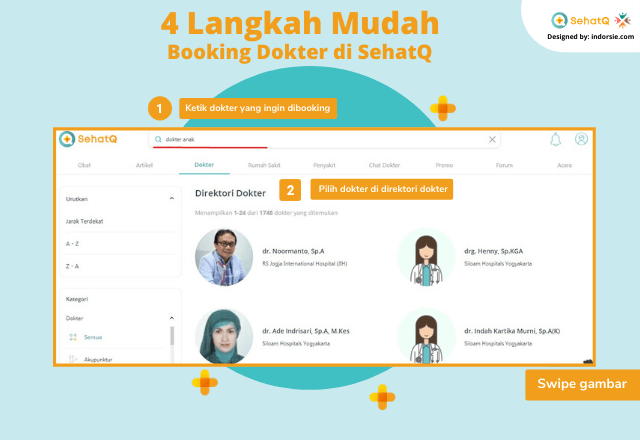 booking dokter sehatq 1